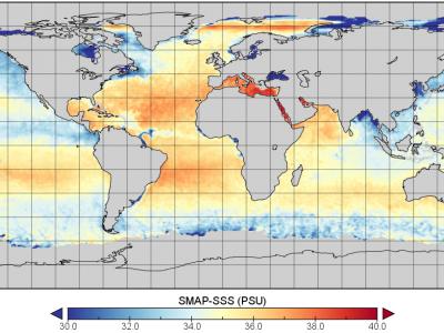 SMAP and Sensing Sea Surface Salinity (SSS)