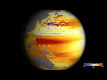 Embedded thumbnail for 22-year sea level rise - TOPEX/JASON
